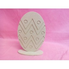 4mm Thick MDF Standing Egg